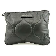 See By Chloe SLG Poeny Women Black Cosmetic Bag