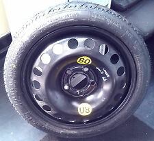 SAAB 9-5 Spare Tyre & Wheel Continental 98+ 13185139 T115/70 R16 92M SPACE SAVER