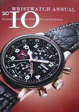 BOEK/PRICE GUIDE : WATCH ANNUAL (uurwerk,catalogue montre,Epos,Chopard,Breguet