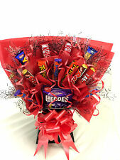 FATHERS DAY LARGE LUXURY CHOCOLATE SWEET TREE BOUQUET HAND MADE LOTS OF VARIETY