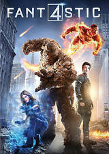 Fantastic Four, Very Good DVD, Toby Kebbell, Jamie Bell, Michael B. Jordan, Kate