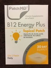 PatchMD B12 Energy Plus * 30 Day Supply
