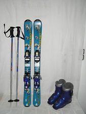 "TECNO "" SKITTY "" SKI JUNIOR ALLROUND CARVER 80 CM + SKISCHUHE GR.: 30 IM SET"