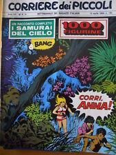 Corriere dei Piccoli 15 1969 con inserto Figurine - Cocco Bill Jacovitt  - [C17]