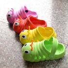 Children Toddler BOY/Girls Cute Caterpillar 3D Cartoon Clogs Water Sandal Shoes
