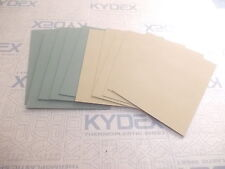 11 PIECES KYDEX T SHEET 297 X 210 X 2MM A4 6 X COYOTE BROWN 5 X OLIVE DRAB GREEN
