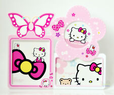 "New Combined Photot Frame Hello Kitty 5"" Kids Family Photo Picture Frame Holder"
