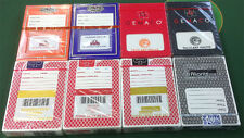 CASINO PLAYING CARDS - 8 NEW DIFFERENT DECKS OF CASINO CARDS - FREE SHIPPING *