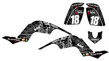 YAMAHA RAPTOR 660 CUSTOM GRAPHICS KIT STICKERS DECALS
