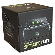 New | Adidas micoach Smart Run Smartrun Running Watch | Black G76792