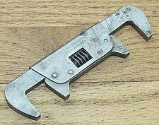 "6"" 1915 ""THE ADJUSTABLE TWIN"" DOUBLE END WRENCH VINTAGE HAND TOOL"