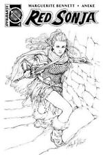 RED SONJA #1 AOD COLLECTABLES ASHLEY WITTER EXCLUSIVE 1 OF 200 B&W COVER 2016