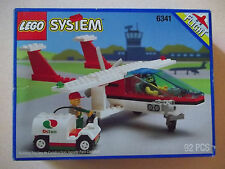 Lego 6341 GAS N' GO FLYER City Town Plane w/Box & Instructions