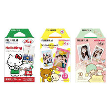 Hello Kitty, Rilakkuma, Twin Stars FujiFilm Instax Mini Film Polaroid 30 Photos