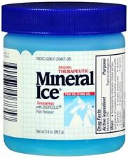 Mineral Ice Pain Relieving Gel 3.50 oz (Pack of 6)