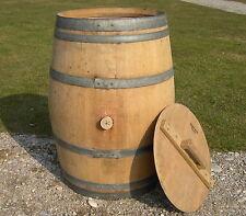 Regentonne Wasserfass 230L Holzfass Weinfass Eichenfass Stehtisch für Weinkeller