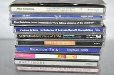 Lot of 11 CDs - Various Artists/Compilations (Alternative,Rock,Metal,Indie)