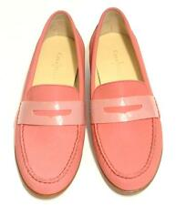 "COLE HAAN NIKE AIR~$198~NWOB~BI-COLOR PINK~LEATHER ""MONROE"" PENNY LOAFER SHOES~7"
