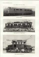 1914 North-eastern Railway Stumpf Sir Gilbert Claughton Giovi Electric Lotschber