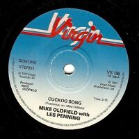 MIKE OLDFIELD WITH LES PENNING Cuckoo Song Vinyl Record 7 Inch Virgin VS 198 EX