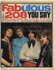 FABULOUS 208 23/12/1967 Kinks Herd Peter Frampton Cat Stevens Michael Crawford