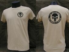 "..:: T-shirt ::.. TAN / COYOTE "" PUNISHER - DIEU JUGERA NOS ENNEMIS "" us TAP"