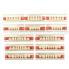 3 Set 84*1 Artificielle Dents Dental Prothèse Dentaire Acrylique VITA couleur A2