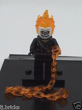 LEGO Marvel Super Heroes Ghost Rider Minifigure 76058 Mini Fig NEW