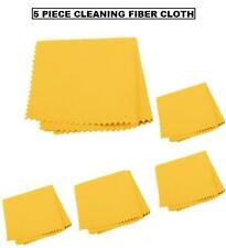 5pc Pro Cleaning Fiber Cloth for Camera Lenses LCD viewfinders & more