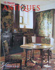 The Magazine ANTIQUES --JUNE 1997 ENGLAND,HYACINTHS, HOPE-WEIR CABINET,CORNWALL
