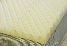 4 inch Foam Twin Bed Pad Mattress Egg Crate / 72 L X 34 W X 4 Inch
