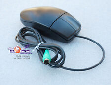 SCHWARZE PS/2 MOUSE LOGITECH FÜR WINDOWS 95 98 NT 2000 NEU BLACK MAUS PS2 NEW M1