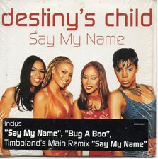 CD single DESTINY'S CHILD - Beyoncé Say my name 3-track CARD SLEEVE with sticker