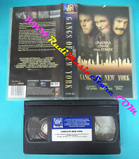 film VHS GANGS OF NEW YORK 2003 di caprio day lewis diaz 20th CENTURY(F3*)no dvd