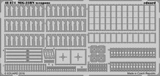 Eduard PE 48874 1/48 Mikoyan MiG-23BN Flogger weapons details Trumpeter