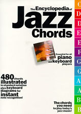 The Encyclopaedia Of Jazz Chords Learn to Play Keyboard Piano Music Book
