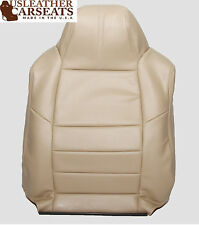 2009 Ford F-250 F-350 Lariat Driver Side Lean Back Leather Seat Cover Camel Tan