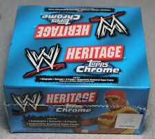 2006 TOPPS CHROME HERITAGE SERIES WWE WRESTLING FACTORY SEALED HOBBY BOX