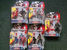 Marvel Captain America Lot 5 Figures Winter Soldier Falcon Red Skull