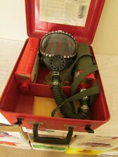 Permissible Universal Gas Mask - Type 31-Sew - Case/2 Canisters/Mask/Strap