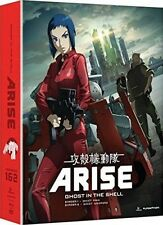 Ghost In The Shell: Arise - Borders 1 & 2 (2014, Blu-ray NIEUW)4 DISC SET