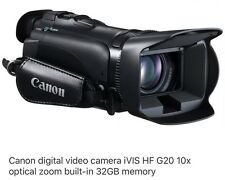 Canon HF G20 (32 GB) AVCHD Camcorder IVIS