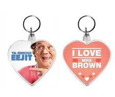 I Love Mrs Brown Acrylic Keyring Key Ring Range Boys Ya Fecking Eejit TV Show