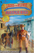 """Buffalo Bill Legends of the Wild West - 4"""" Action Figure - 1991 - New"""