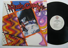 LP Krush Groove-VG + + Sheila e Beastie Boys Force M.D. 's Kurtis Blow LL Cool J