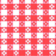 "Tavern Check Oilcloth Without Felt Back 54"" wide - By The Yard"