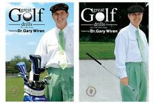 Great Golf Drills - Instructional Two DVD Set - Free Shipping