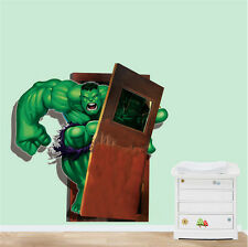 3D The Hulk Removable Wall Sticker/Decal Home/Rome Decor Kid Creative Life