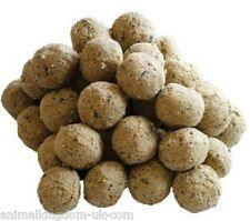 Wild Bird Food Suet / Fat Balls Small 150pk 12.75kg No Nets RSPB Guidelines