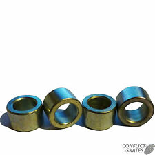 CUSCINETTO Distanziatori Acciaio 8mm Skate Roller Derby Set di 8 FIT 8mm diametro assi